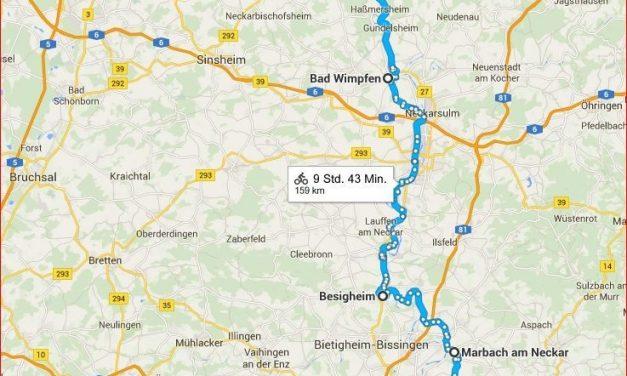 Barkenfahrt auf dem Neckar von Stuttgart nach Heidelberg