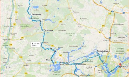 Barkenfahrt von Havelberg nach Potsdam