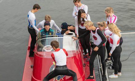 CLUB-Webseite: Die Trainingsgruppe kommt an Bord