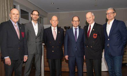 Stiftungsessen der CLUB-Stiftung mit Vortrag von Martin Huber