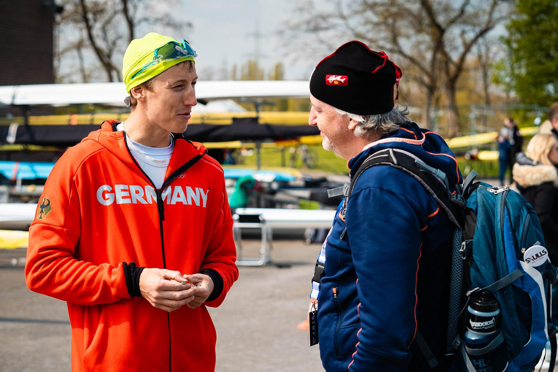 Stephan Riemekasten und Trainer