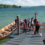 Mit dem Kirchboot auf dem Bodensee