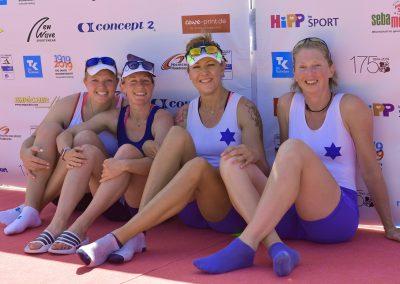 Deutscher Meister - Bara Varekova, Ingar Seemann, Sybille Roller, Katrin Martin