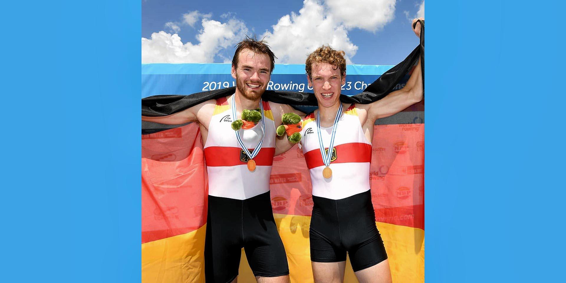 Eric Magnus Paul und Jonathan Schreiber