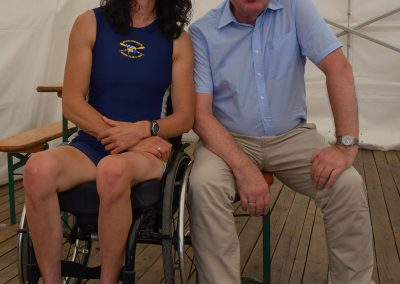 Sylvia Pille-Steppat und Werner Glowik