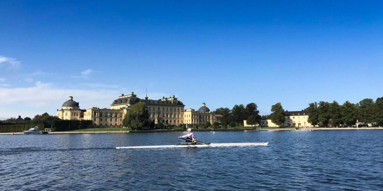Club-Trainingsgruppe in Schweden