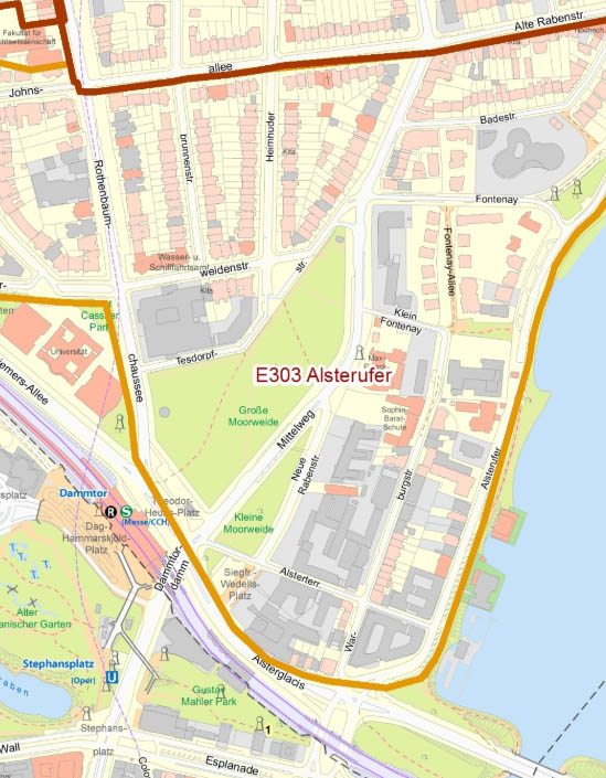 Hamburg Karte Rotherbaum