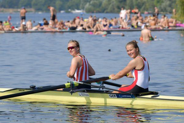 Annika Salwiczek und Klara Miebach im 2er ohne