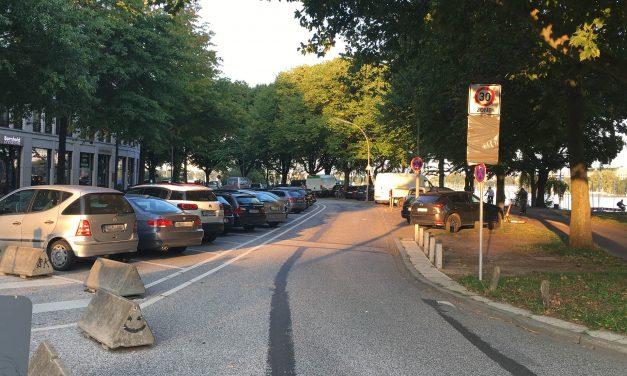 Neue Parkregeln am Alsterufer ab 21.09.2020