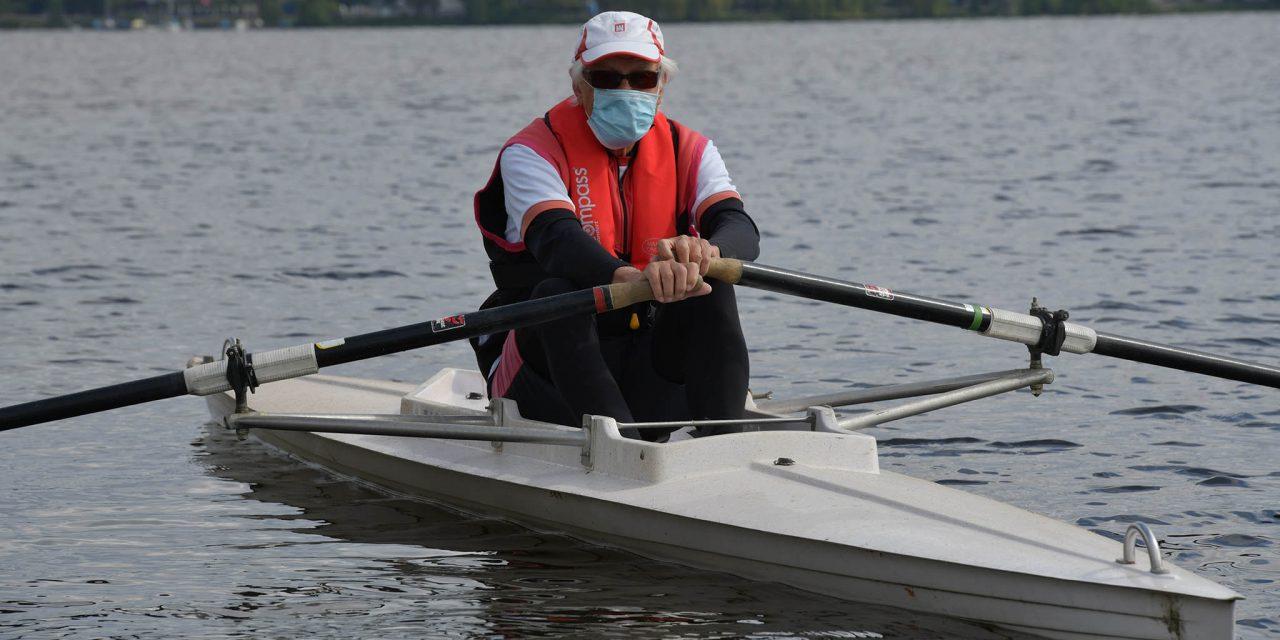 Maskenpflicht im Bootshaus