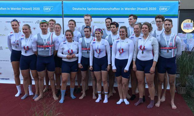 Hamburger RBL-Achter erfolgreich bei den Deutschen Sprintmeisterschaften