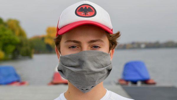 Maskenträger