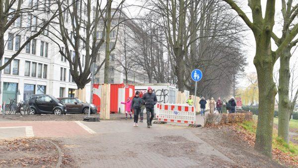 Eingang Alsterufer