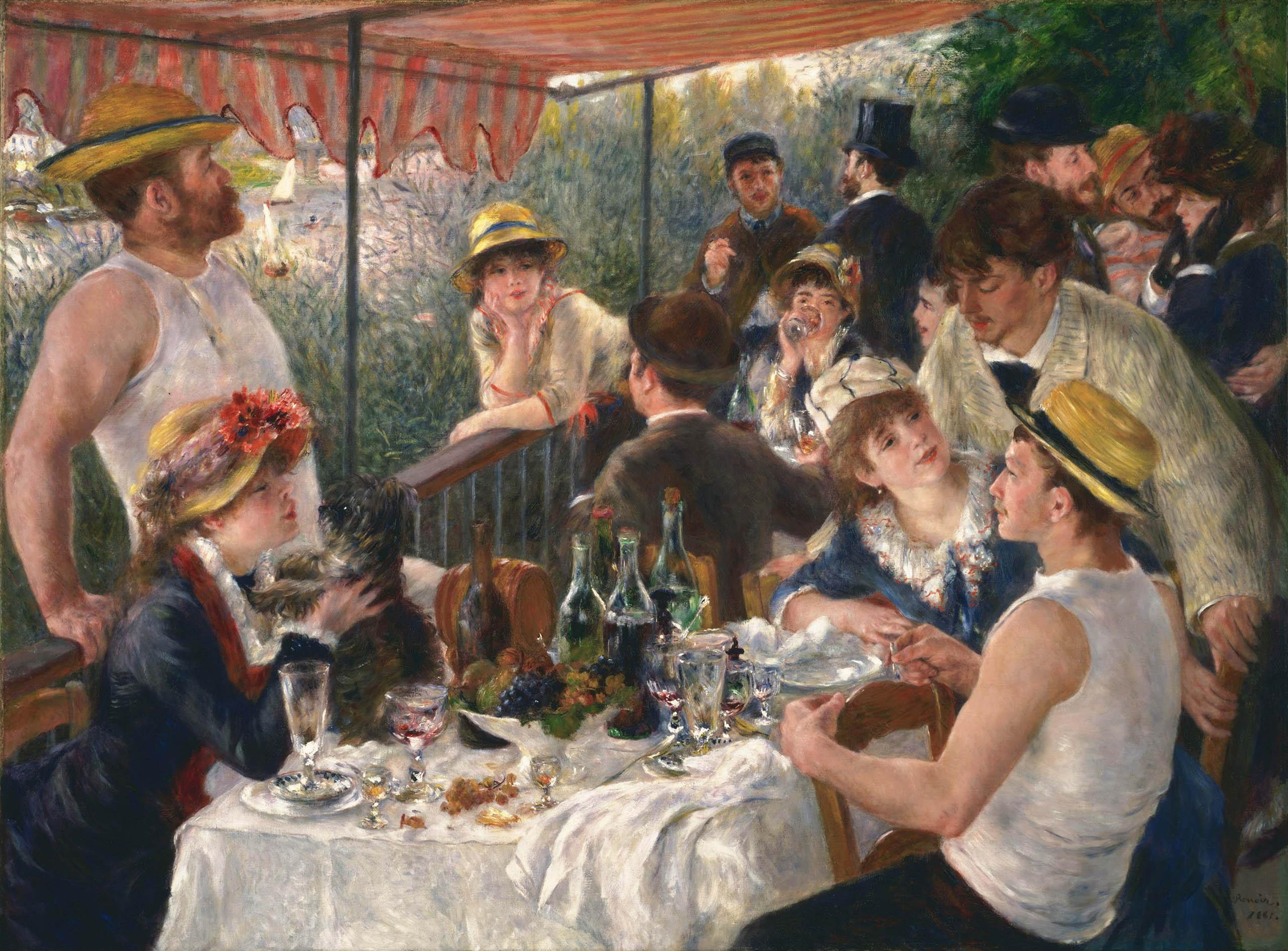 Renoirs Ruderer