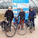 3 Ruderer – 3 Fahrräder– 3 Etappen:100 km um Hamburg