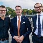 """Full CLUB-House bei Vortrag des """"Trio Virale"""""""