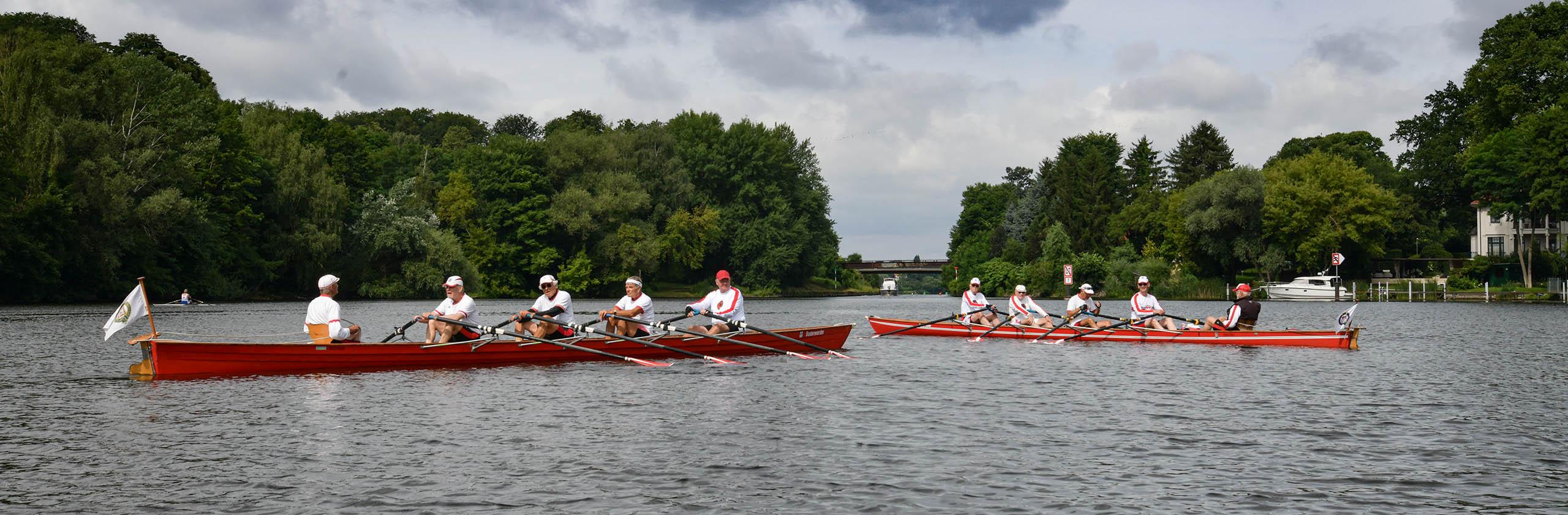 Gruppenbild Boote