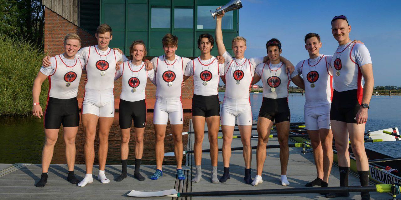 Club-Achter erfolgreich auf den Norddeutschen Meisterschaften 2021